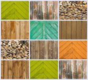 ξύλινες ανασκοπήσεις Στοκ Εικόνες