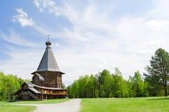 Ξύλινες εκκλησίες στη βόρεια Ρωσία Στοκ φωτογραφίες με δικαίωμα ελεύθερης χρήσης