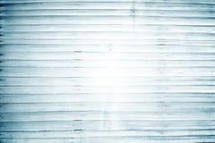Ξύλινη άποψη επιτραπέζιων κορυφών σανίδων Μπλε τονισμένη σύσταση φωτογραφιών κιρκιριών Ξεπερασμένος ξύλινος επιτραπέζιος πίνακας Στοκ Εικόνα
