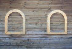 Ξύλινη ανασκόπηση τοίχων Στοκ Φωτογραφία