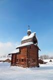 Ξύλινη εκκλησία Στοκ εικόνες με δικαίωμα ελεύθερης χρήσης