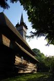 Ξύλινη εκκλησία Budesti Στοκ εικόνες με δικαίωμα ελεύθερης χρήσης