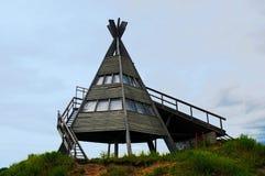 Ξύλινη καλύβα Στοκ φωτογραφία με δικαίωμα ελεύθερης χρήσης