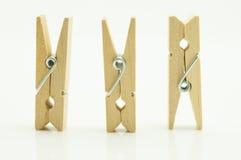 Ξύλινη καρφίτσα ενδυμάτων Στοκ εικόνες με δικαίωμα ελεύθερης χρήσης
