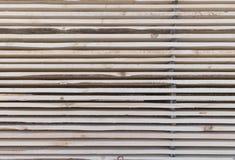 Ξύλινη ξυλεία στο πριονιστήριο στοκ φωτογραφίες