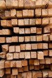Ξύλινη ξυλεία στο πριονιστήριο στοκ φωτογραφίες με δικαίωμα ελεύθερης χρήσης