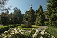 Ξύλινη παλαιά εκκλησία Στοκ Εικόνες