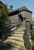 Ξύλινη παλαιά εκκλησία Στοκ φωτογραφία με δικαίωμα ελεύθερης χρήσης