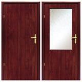 Ξύλινη πόρτα 01 Στοκ Φωτογραφίες