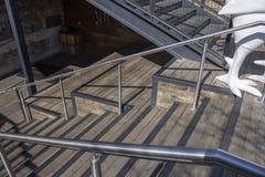 Ξύλινη σκάλα στοκ εικόνα με δικαίωμα ελεύθερης χρήσης