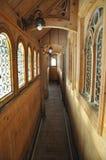 Ξύλινη σκανδιναβική γοτθική αρχιτεκτονική Στοκ Εικόνα