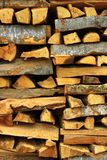 Ξύλινη στοίβα Στοκ φωτογραφία με δικαίωμα ελεύθερης χρήσης