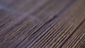 Ξύλινη σύσταση - εστίαση - εκλεκτής ποιότητας ξύλινο γραφείο σχεδίου φιλμ μικρού μήκους