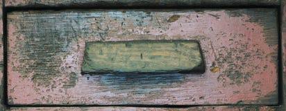 Ξύλινη σύσταση συρταριών, κινηματογράφηση σε πρώτο πλάνο στοκ εικόνα