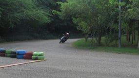 Ξύλινη raceway κύκλων ταχύτητα στοκ εικόνες