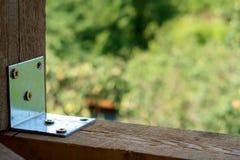 Ξύλινοι πόλοι σε μια κατασκευή στοκ φωτογραφία με δικαίωμα ελεύθερης χρήσης