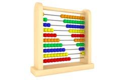 Ξύλινος άβακας παιχνιδιών διανυσματική απεικόνιση