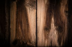 Ξύλινος αγροτικός πίνακας πινάκων Στοκ Εικόνα