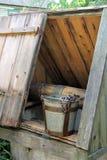 Ξύλινος καλά Στοκ φωτογραφία με δικαίωμα ελεύθερης χρήσης