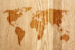 ξύλινος κόσμος Στοκ Φωτογραφίες
