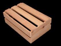 ξύλινος ξύλινος κιβωτίων Στοκ Φωτογραφία