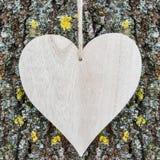 Ξύλινος πίνακας καρδιών Στοκ φωτογραφία με δικαίωμα ελεύθερης χρήσης