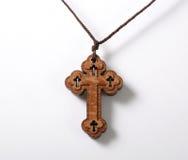 Ξύλινος σταυρός Στοκ Φωτογραφίες