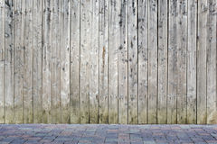 Ξύλινος τοίχος Στοκ φωτογραφία με δικαίωμα ελεύθερης χρήσης