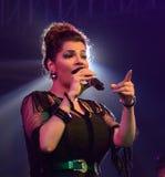 Ξύλινος τραγουδιστής Bolly σε Bodhgaya, bihar, Ινδία Στοκ Εικόνες