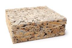 Ξύλινος τσιμεντένιος ογκόλιθος Στοκ Εικόνα