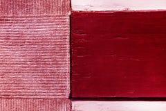 Ξύλινος burgundy τσιμέντου τούβλου κόκκινος ρόδινος τρύγος υποβάθρου σύστασης grunge παλαιός στοκ εικόνες με δικαίωμα ελεύθερης χρήσης