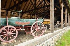 Ξύλινο βαγόνι εμπορευμάτων Στοκ Φωτογραφίες