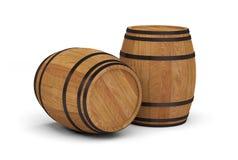 Ξύλινο βαρέλι μπύρας οινοπνεύματος βαρελιών κρασιού στοκ εικόνα