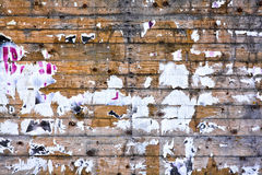Ξύλινο βρώμικο χαρτόνι Στοκ Φωτογραφίες