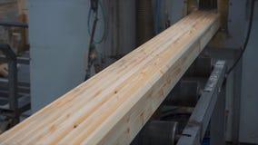 Ξύλινο εξοχικό σπίτι κατασκευής Μέτρηση των φραγμών πεύκων με τη βοήθεια μιας υπαίθριας κινηματογράφησης σε πρώτο πλάνο εργαλείων Στοκ εικόνα με δικαίωμα ελεύθερης χρήσης