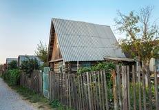 Ξύλινο εξοχικό σπίτι Στοκ Εικόνα