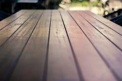Ξύλινο επιτραπέζιο υπόβαθρο στοκ φωτογραφίες με δικαίωμα ελεύθερης χρήσης