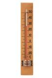 Ξύλινο θερμόμετρο Ελεύθερη απεικόνιση δικαιώματος