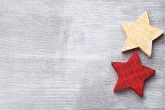 Ξύλινο ντεκόρ Χριστουγέννων Χριστούγεννα συμβόλων χαιρετισμός καλή χρονιά καρτών του 2007 Στοκ Φωτογραφία