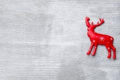 Ξύλινο ντεκόρ Χριστουγέννων Χριστούγεννα συμβόλων χαιρετισμός καλή χρονιά καρτών του 2007 Στοκ Εικόνα