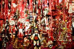 Ξύλινο παιχνίδι Χριστουγέννων Στοκ Φωτογραφία