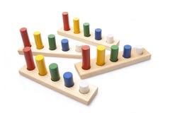 Ξύλινο παιχνίδι Στοκ Εικόνες