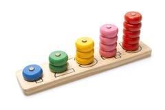 Ξύλινο παιχνίδι Στοκ Εικόνα