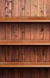 Ξύλινο ράφι έντασης του ήχου Στοκ φωτογραφία με δικαίωμα ελεύθερης χρήσης