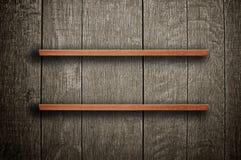 Ξύλινο ράφι βιβλίων στοκ φωτογραφία
