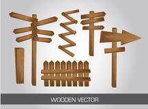 Ξύλινο σημάδι απεικόνιση αποθεμάτων