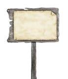 Ξύλινο σημάδι Στοκ Φωτογραφίες