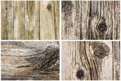 Ξύλινο σιτάρι ρωγμών υποβάθρου παλαιό Στοκ εικόνα με δικαίωμα ελεύθερης χρήσης