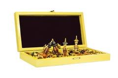 Ξύλινο σκάκι. Στοκ εικόνα με δικαίωμα ελεύθερης χρήσης