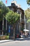 Ξύλινο σπίτι, πρίγκηπες Ä°sland, Τουρκία στοκ εικόνες